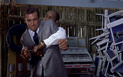 Dr. No - Stunts