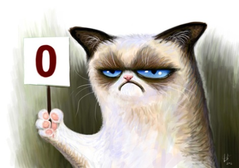Grumpy Cat cartoon