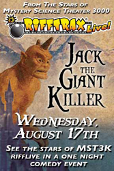 RiffTrax Live - Jack the Giant Killer