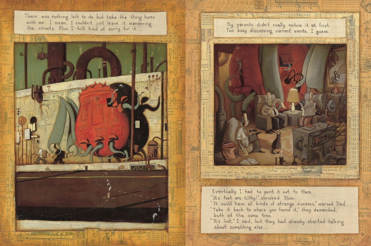 the lost thing shaun tan The lost thing by shuan tan about this resource info created: feb 6, 2012 updated: apr 26, 2014 lesson plan docx, 38 kb the lost thing by shuan tan report a.