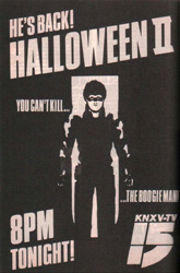Halloween II - Television version
