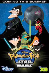 Phineas and Ferb - Star Wars